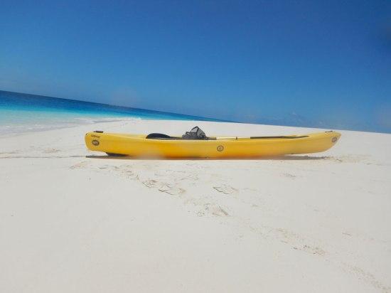 Mnemba Island, Canoe