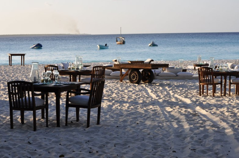 Mnemba Island Beach Barbecue