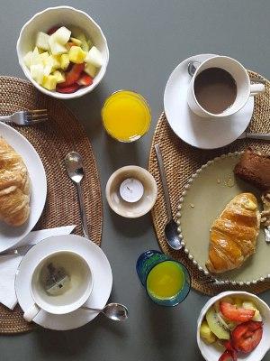 A Casa das Janelas com vista, breakfast