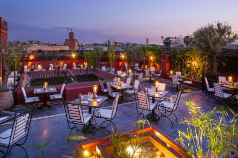 Photo courtesy of Le Foundouk Restaurant Marrakech, la Terrasse