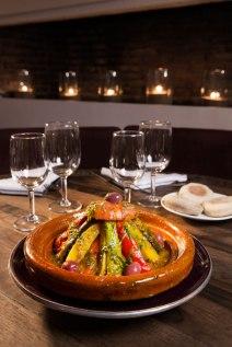 Photo courtesy of Le Foundouk Restaurant Marrakech, tagine berbère