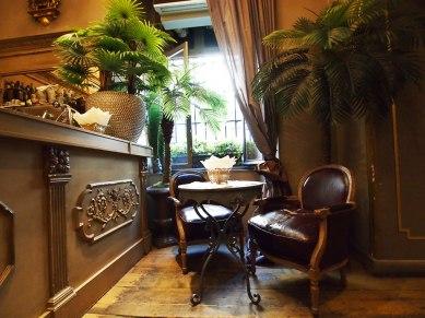 Floris House, café