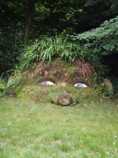 The Giant's Head, Lost Gardens of Heligan (Cornwall)