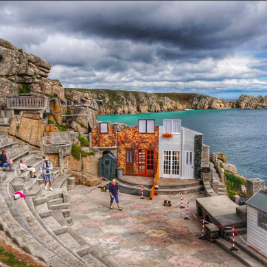 Minack Theatre and Porthcurno beach