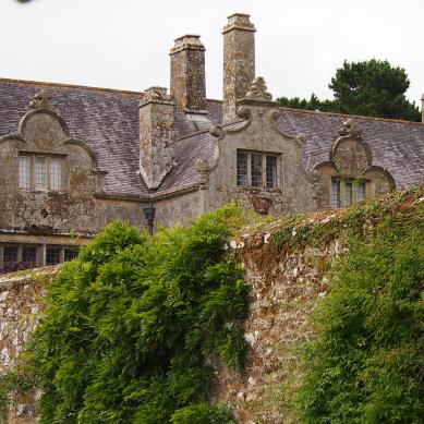Trerice Manor House, Cornwall