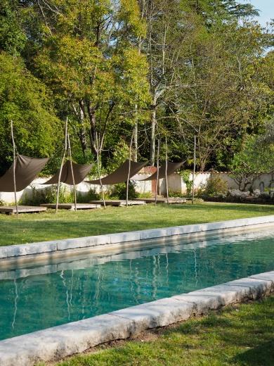 Châteaux d'Uzer Chambre d'hôtes Ardèches (swimming pool)